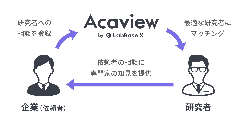 Acaview(アカビュー)のビジネスモデル